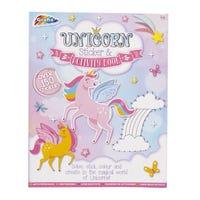 Grafix's Unicorn Activity and Sticker Book