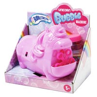 Novelty Unicorn Bubbles Machine