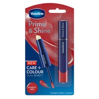 Vaseline Prime and Shine 2-in-1 Lip Balm and Gloss in Scarlet Red