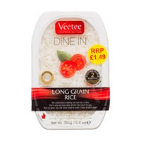 Veetee Instant Dine In Long Grain Rice 300g