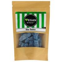 Vegan All Sorts Blue Babies Sweets 100g