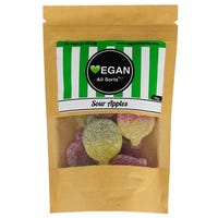 Vegan All Sorts Sour Apples Sweets 100g