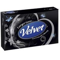 Velvet Larger Tissues Mansize 50 Sheets Assorted