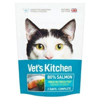 Vets Kitchen Ultra Fresh Cat Food Salmon Pouch 110g