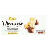 Fox's Viennese Milk Chocolate Dip Fingers 105g