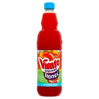 Vimto Watermelon Strawberry and Peach Remix Squash 1L
