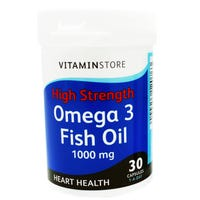 Vitamin Store Omega 3 Fish Oil 30 Capsules
