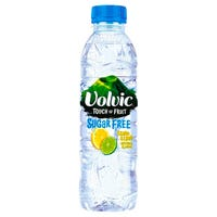 Volvic Touch of Fruit Sugar Free Lemon and Lime Fruit Water 500ml