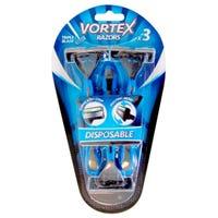 Vortex Mens Triple Blade Ultra Razors 3 Pack
