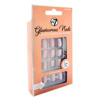 W7 Glamorous Stick on Nails in Pink Beige