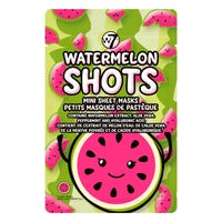W7 Watermelon Shots Mini Sheet Masks