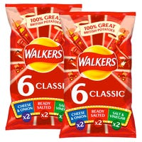 Walkers Variety Crisps 6 Pack 25g
