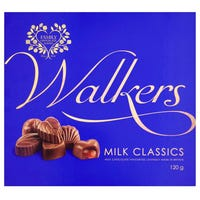 Walkers Classic Assorted Chocolates 120g