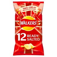 Walkers Ready Salted 12 Pack