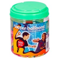Waterzone Water Bombs with Pump 500 Pack