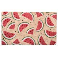 Watermelon Coir Door Mat 36 x 76cm