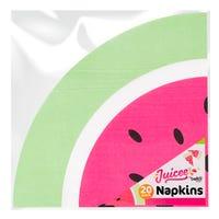 Watermelon Paper Napkins 20 Pack