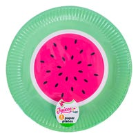 Watermelon Paper Plates 8 Pack