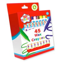 Kids Create Wax Crayons 45 Pack