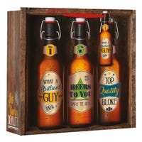 What A Brilliant Guy Beer Square Large Gift Bag