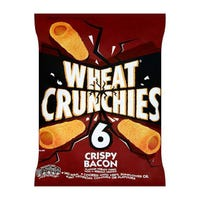 Wheat Crunchies Crispy Bacon 6 Pack