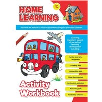 Learning at Home Activity Books The Wheels On The Bus