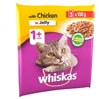 Whiskas 1+ Cat Pouch Chicken in Jelly 100g