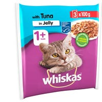 Whiskas 1+ Cat Pouch Tuna In Jelly 100g