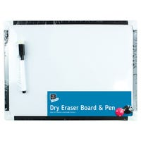 White Board And Pen Set 4 Piece