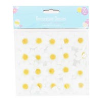 Easter Decorative Daisies 20 Pack White