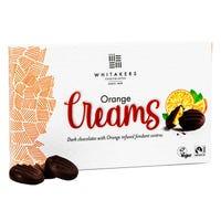 Whitakers Luxury Orange Dark Chocolate Cremes 100g