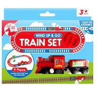 Wind Up And Go Train Set