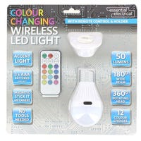Colour Changing Wireless LED Light