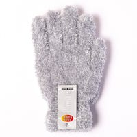 Ladies Feather Touch Gloves Grey