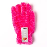 Ladies Feather Touch Gloves Rosy