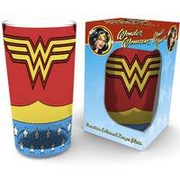 DC Comics Wonder Woman Costume Glass