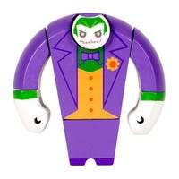 DC Comics Wooden Joker Figure