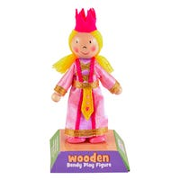 Princess Wooden Bendy Play Figure
