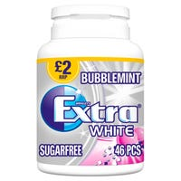 Wrigley's Extra White Bubblemint 46 Pieces