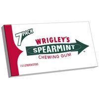 Wrigleys Spearmint Chewing Gum- 7 Pack