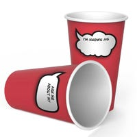 Chit Chats Write On Paper Cups