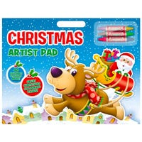 Christmas Artist Pad