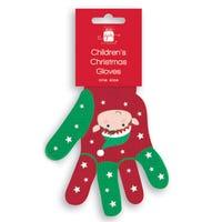 Christmas Childrens Gloves Elf