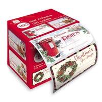 Christmas Self Adhesive Traditional Gift Tags 150 Pack