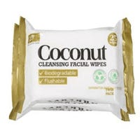 XBC Coconut Biodegradable Wipes Twin Pack
