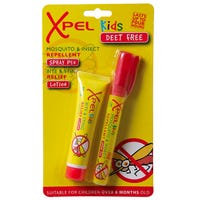 Xpel Kids Twin Set Spray and Lotion