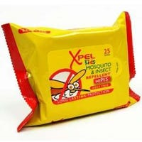 Xpel Kids Mosquito & Insect Repellent Wipes