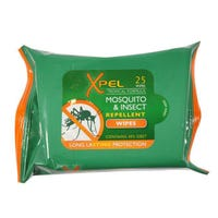 Xpel Tropical Formula Mosquito & Insect Repellent Wipes