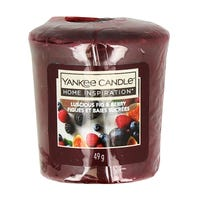 Yankee Candle Home Inspiration Votive Candle in Luscious Fig Berry 49g