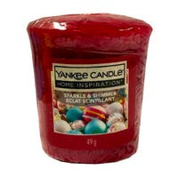 Yankee Candle Home Inspiration Votive Candle Sparkle and Shimmer 49g